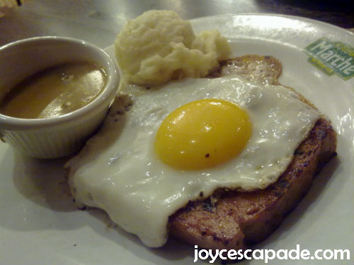 Bavarian Meat Loaf with Egg
