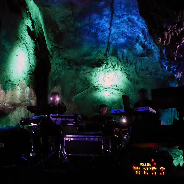 Pyramid Peak live @ Dechenhöhle 2014 / photo S. Mazars