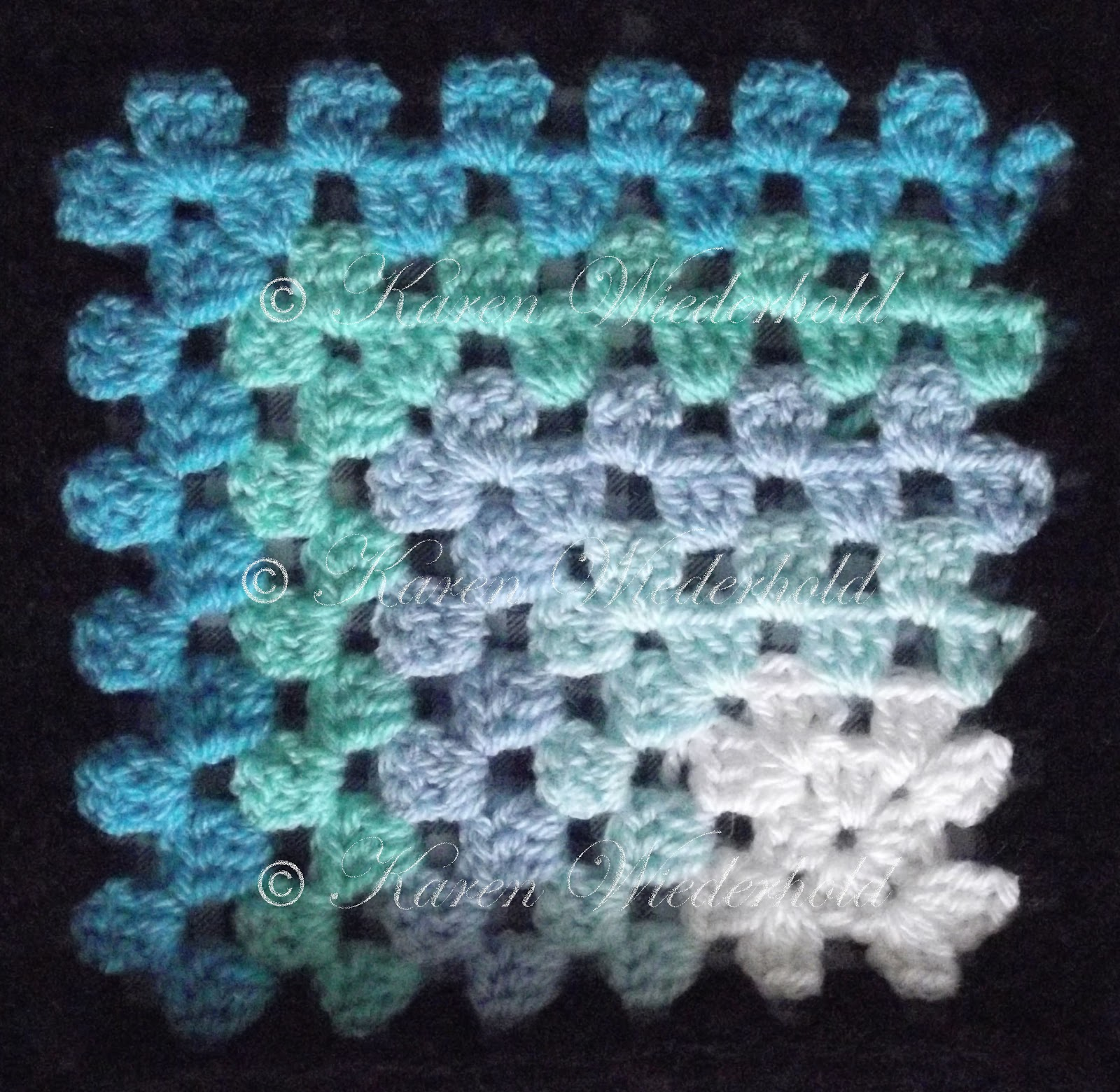 ... Granny Square Blanket - Free Crochet Pattern - Copyright 2013-2015
