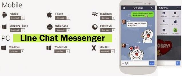 Download Aplikasi Line Chat Messenger Terbaru