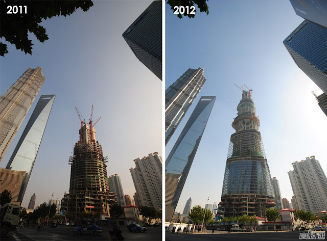 Photo comparison from 2011 and 2012