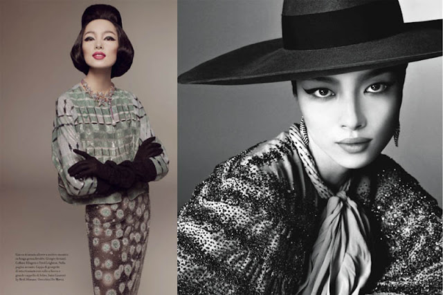 Fei Fei Sun Vogue Italia January 2013 Editorial China Machado inspiration_3