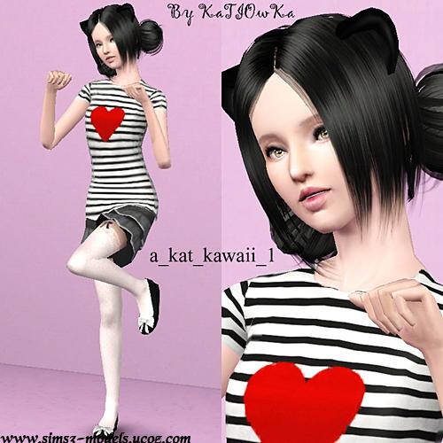 Empire Sims 3 Kawaii Pose Set By Katiowka