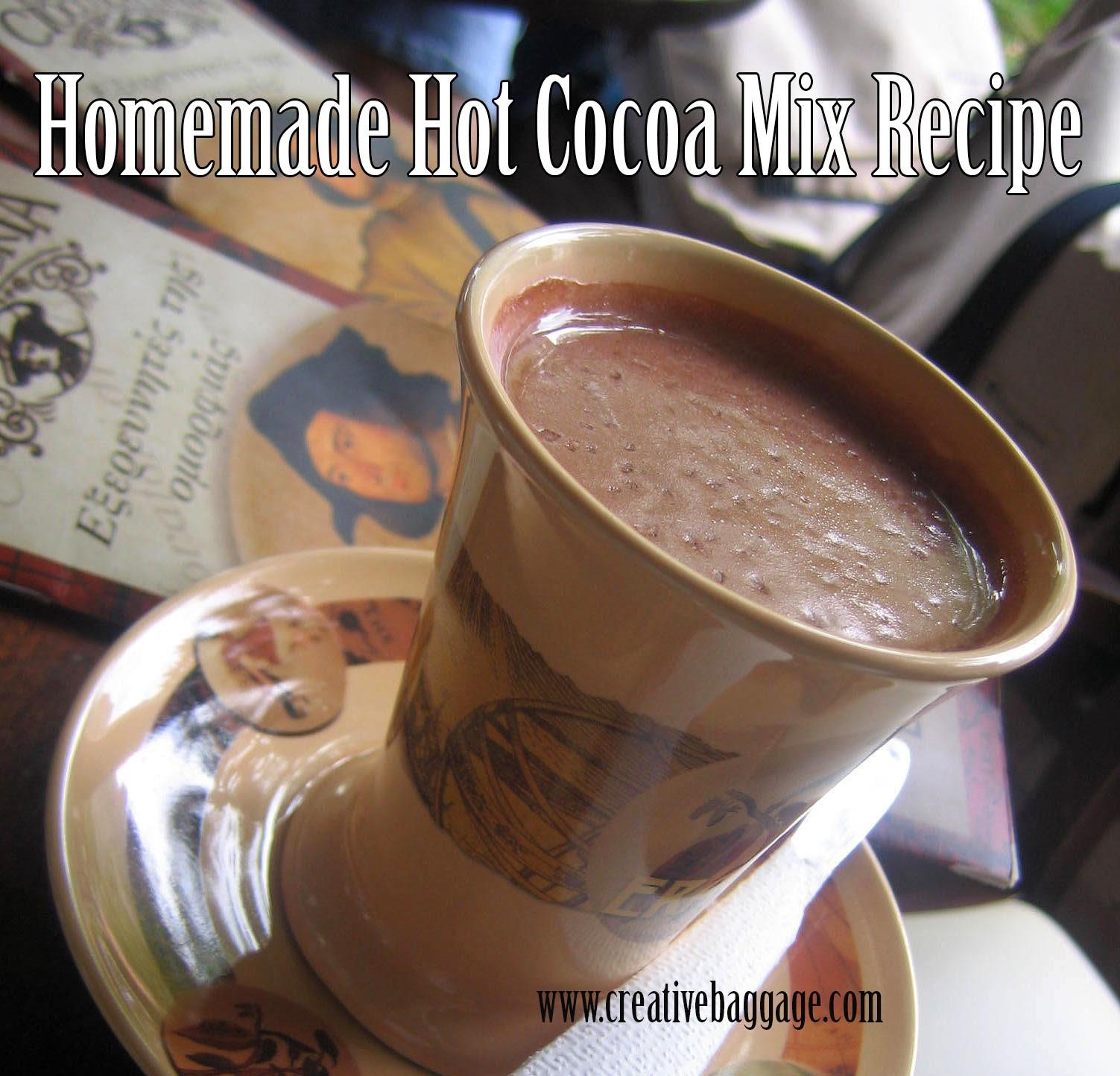 Homemade Hot Cocoa Mix Recipe Image