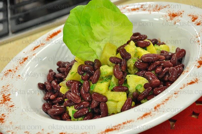 Meksika Fasulyeli Patates Salatası Tarifi