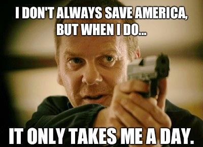 jjbjorkman.blogspot.com I don't always save America but when I do it only takes me a day