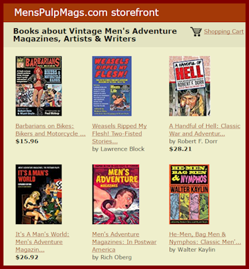 The Men's Pulp Mags Bookstore