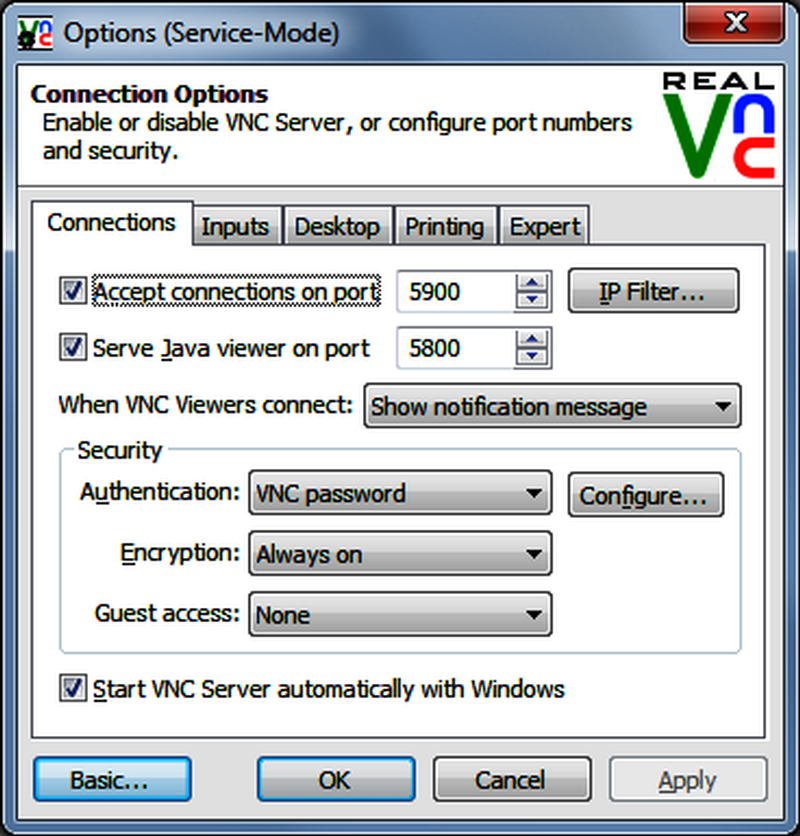software vnc