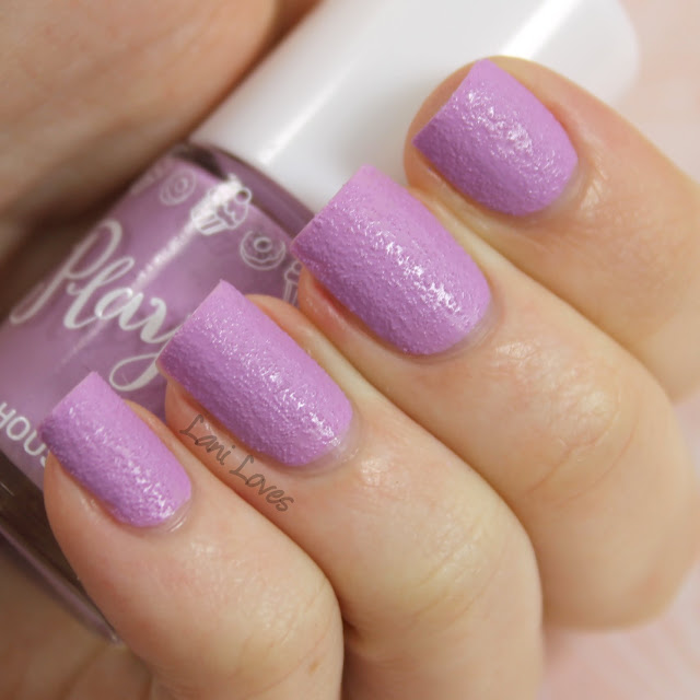 Etude House Play Nail Sugar Powder #196 nail polish swatch