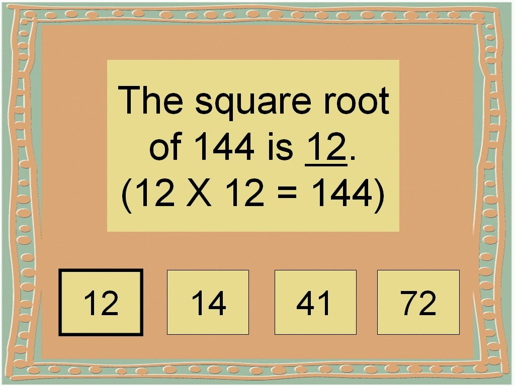 how to find the square root of 12