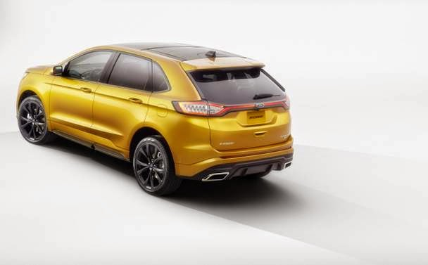 2015 Ford Edge Release