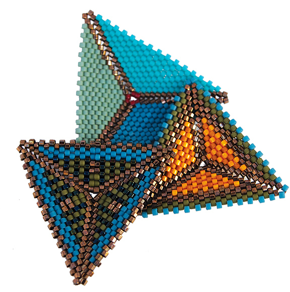 bead artists directory contemporary geometric beadwork