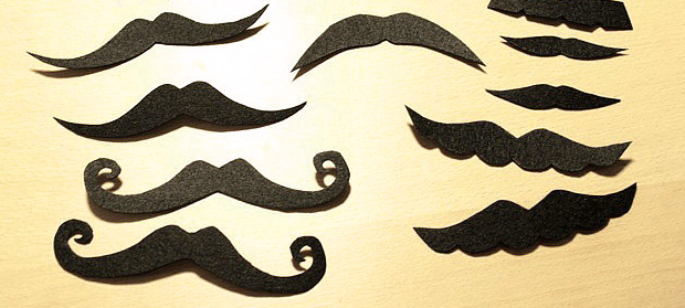 DIY Mustache