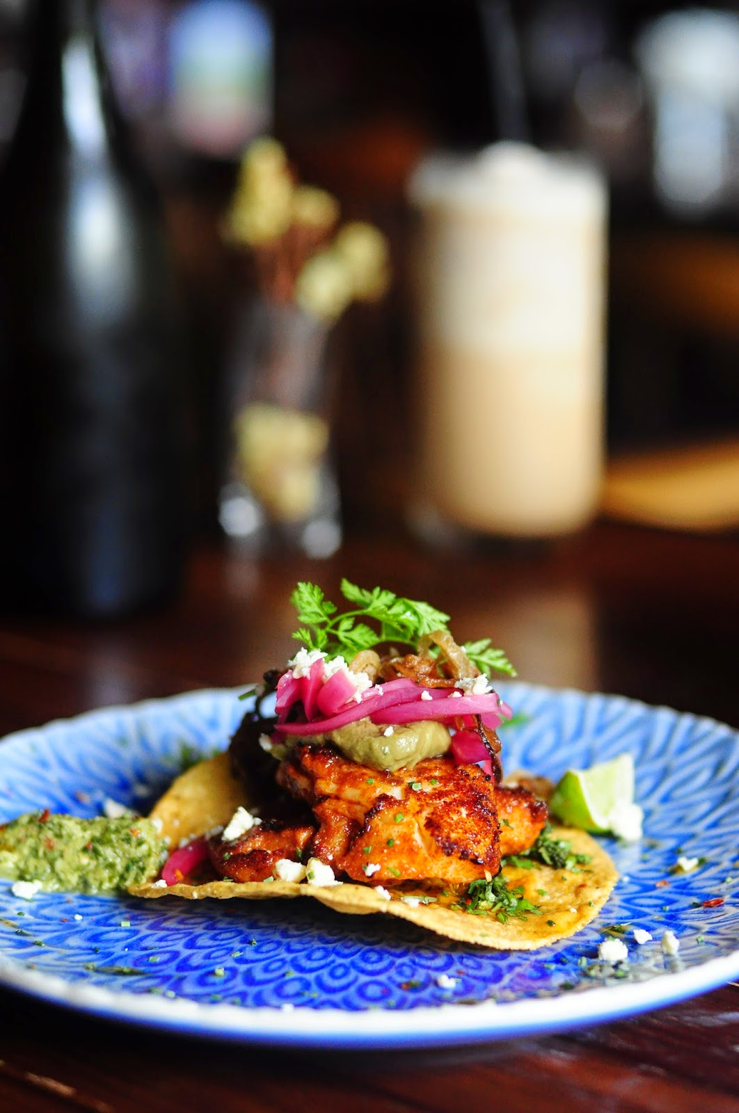 Seasons Bistro Singapore review: Cajun blackened fish taco