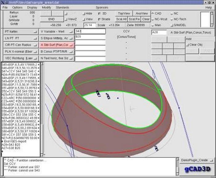 Descargar gcad3d gratis de arkitectura for Programa para dibujar en 3d gratis