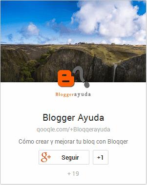 Insignia de Google+ en formato vertical