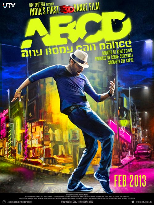ABCD Movies Release Feb 2013, Prabhu Deva, Feb 8 2013, Bollywood Masala News, Latest Bollywood News, Bollywood Gossip, Movie Reviews