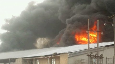 fire explosion christ embassy lagos