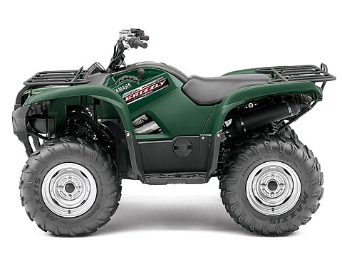 2013 Yamaha Grizzly 550 FI Auto 4x4 ATV pictures. 480x360 pixels
