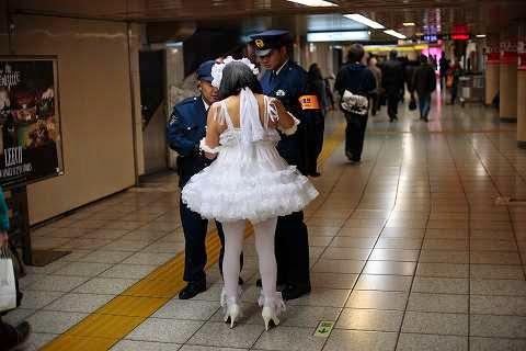 sujeto detenido en Japón