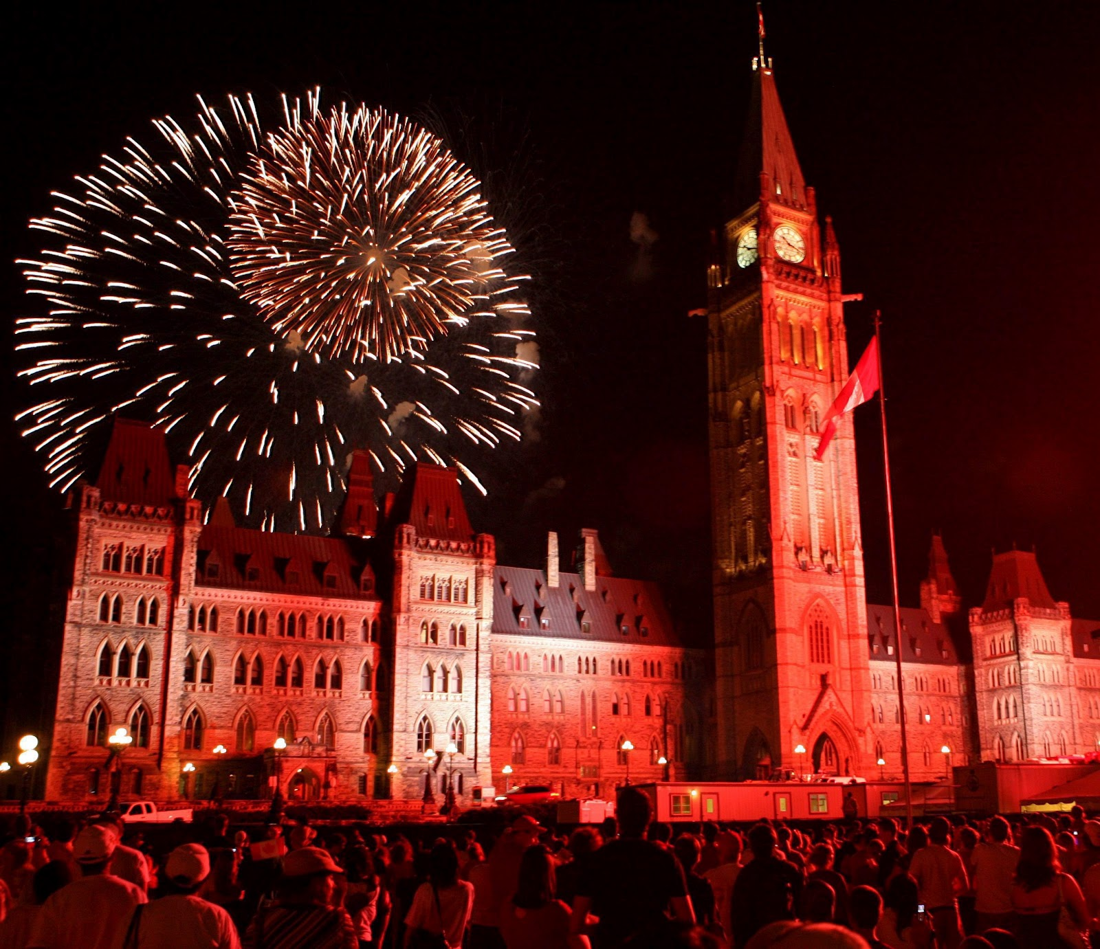 Happy Birthday Canada: Best Fireworks Across The Country