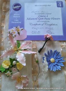Wilton Method Course 4 Advanced Gum Paste Flowers