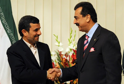 Ahmadinejad And Pakistan