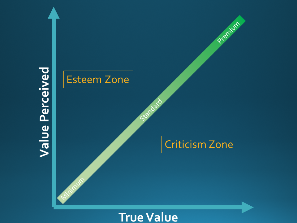 Perception and project management processes value