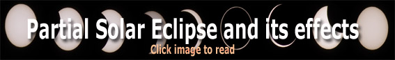 Partial Solar Eclipse – Effects