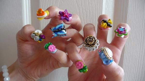 Cool 3D Nail Art