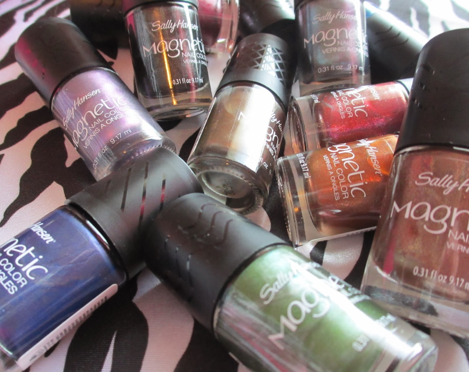 Hot Glue & Sparkle: SALLY HANSEN MAGNETIC NAIL POLISHES, $1 AT ...