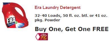 Era he detergent coupons