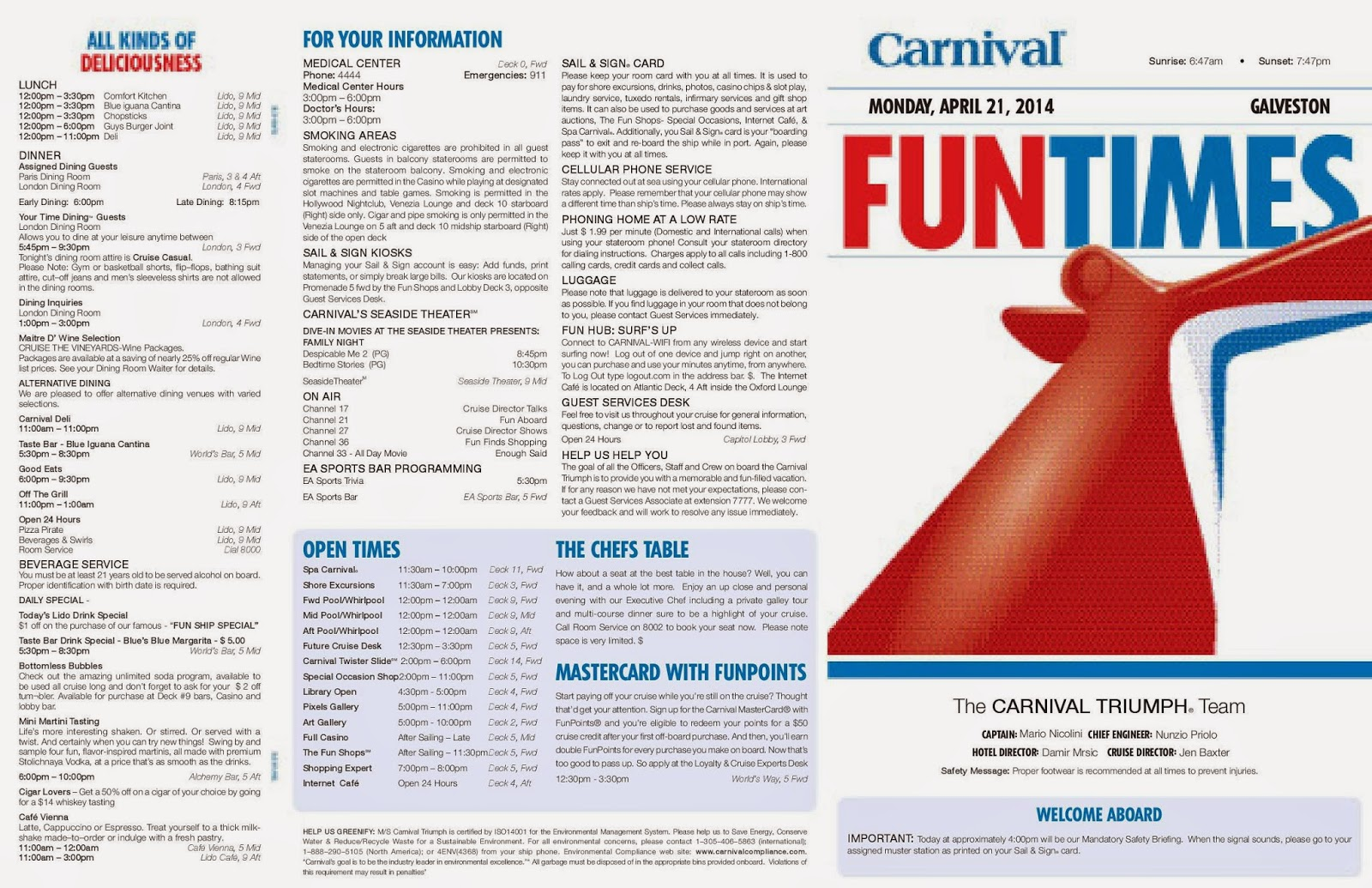 Carnival Cruise Activities Schedule Body  Punchaoscom