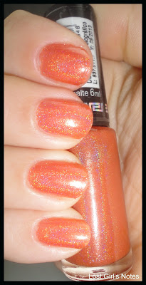 hits demeter holographic nail polish swatches and review