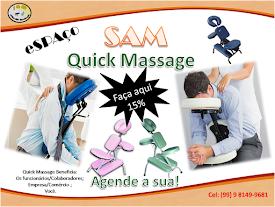 Marque já uma Quick Massage