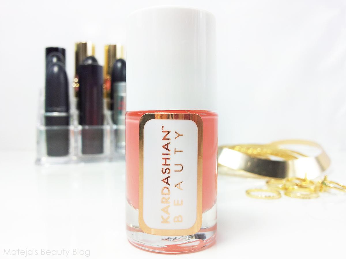 Kardashian Beauty Nail Polish Perfection - Mateja\'s Beauty Blog