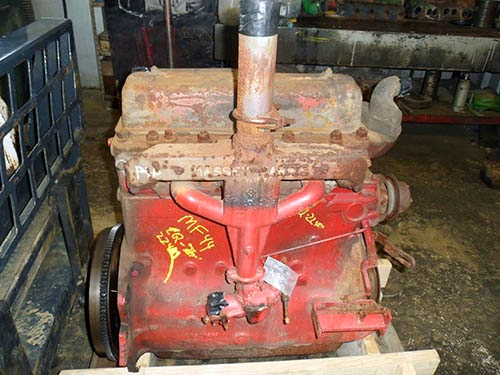 Massey 44 engine