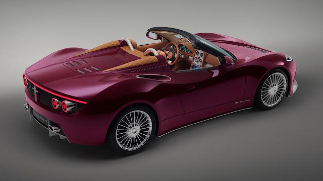 Spyker B6 Venator Spyder Concept rear