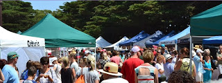 Bamboo creations victoria are a feature stallholder at point nepean market