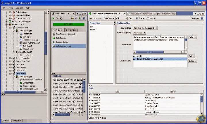 SoapUI Pro interface
