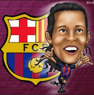 Karikatur Ronaldinho