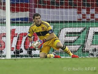 Iker Casillas contra Croacia, Eurocopa
