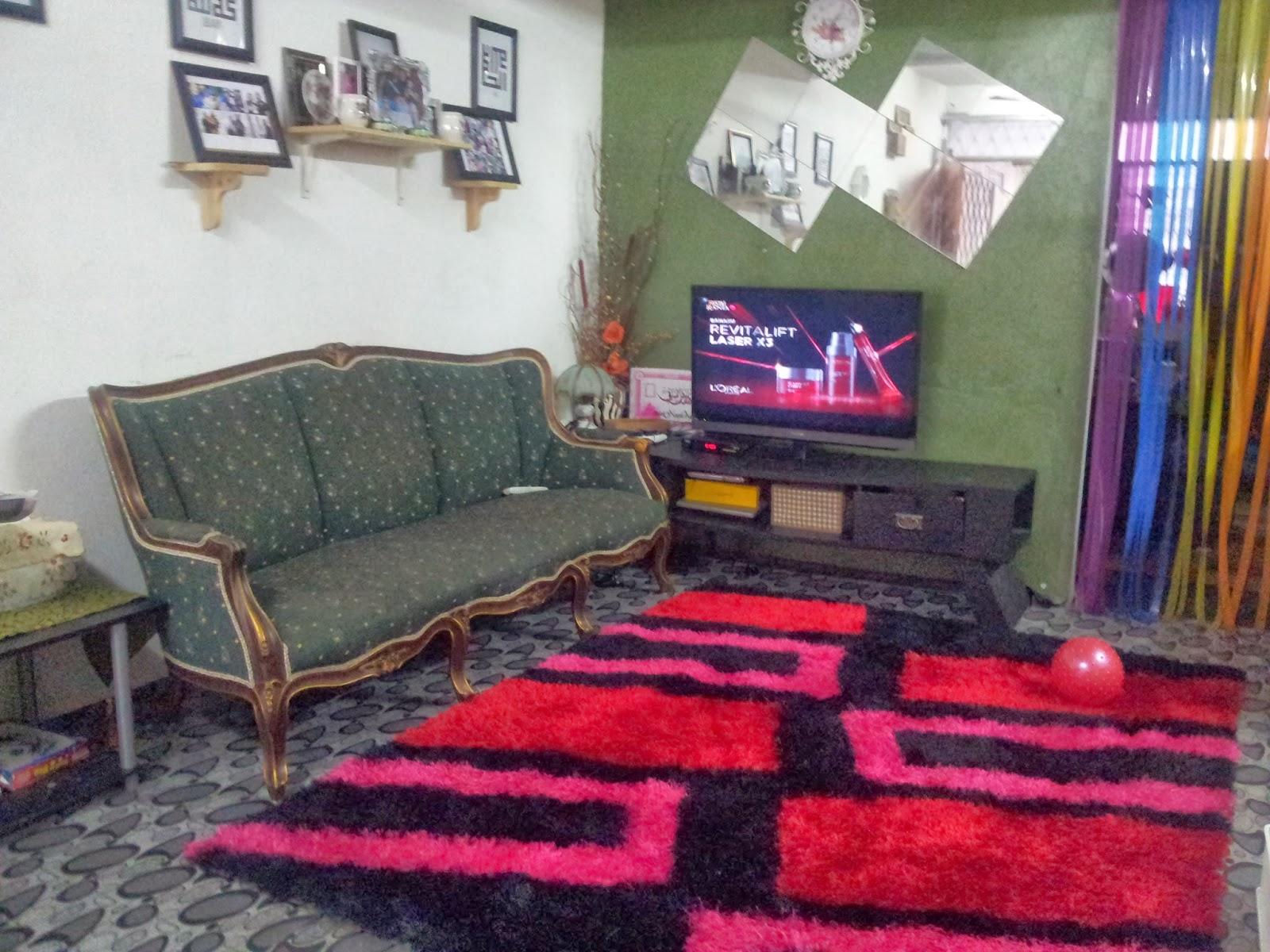 ini blog mimiziouslicious karpet vs tikat evamatik