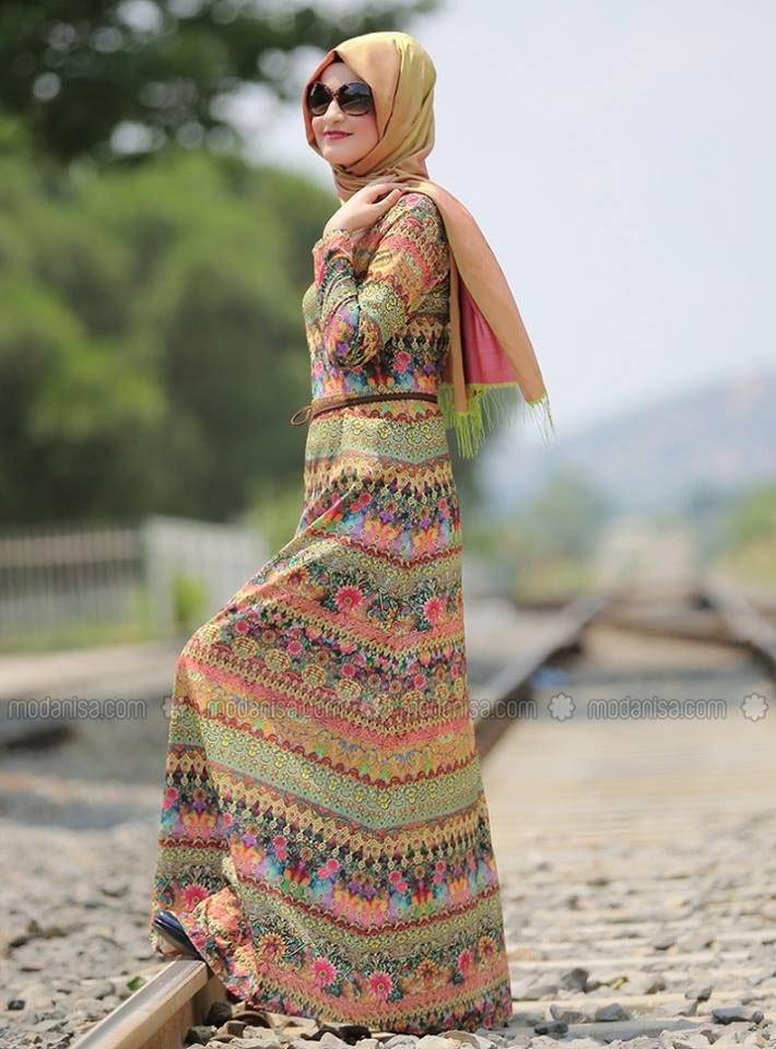 Mode robe femme voilee
