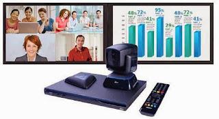 màn hình hiển thị thiết bị hội nghị truyền hình evc300