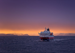 Hurtigruten ship M/S Polarlys