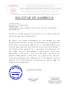 SOLICITUD DE PERMISO PARA INTERVENIR EL RIO SAN RAFAEL