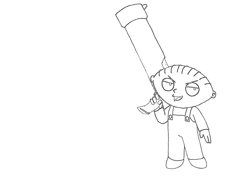 printable-stewie-griffin-bazoka-coloring-pages