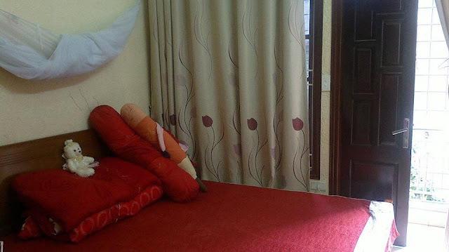 Phòng ngủ đẹp lung linh trong căn nhà thổ cư giá rẻ Hồ Tùng Mậu, Cầu Giấy, HN
