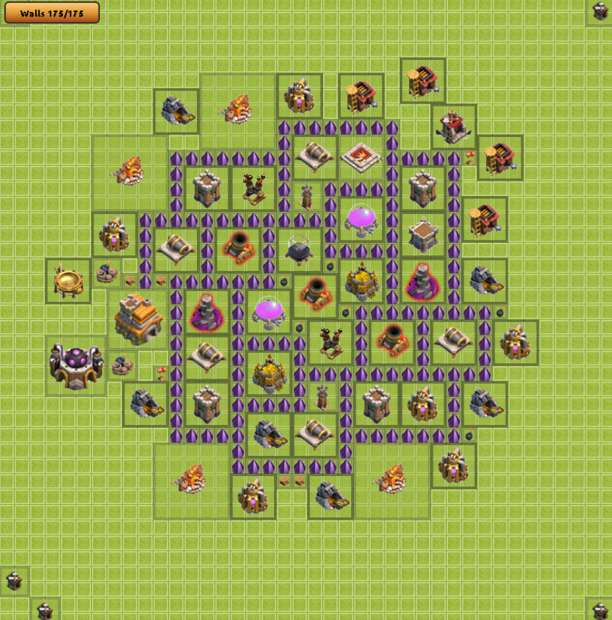 Best farming base for town hall level 7 in clash of clans web
